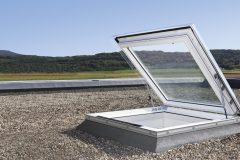 accès toiture