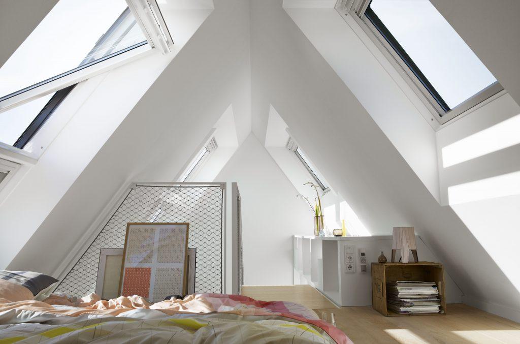 Chambre-Fenêtre de toit VELUX - Yvelines