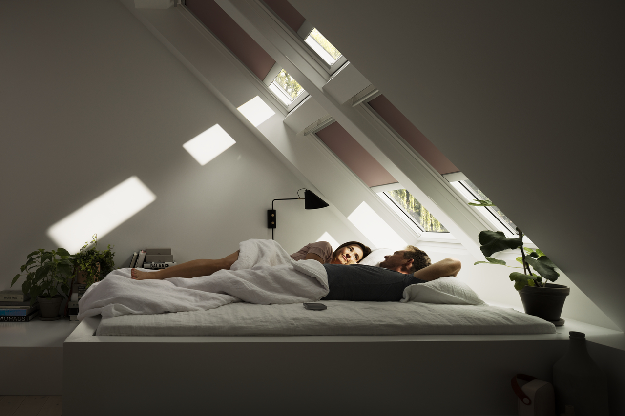 installer stores occultant velux chambre