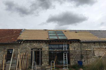 Trio fenêtre de toit VELUX