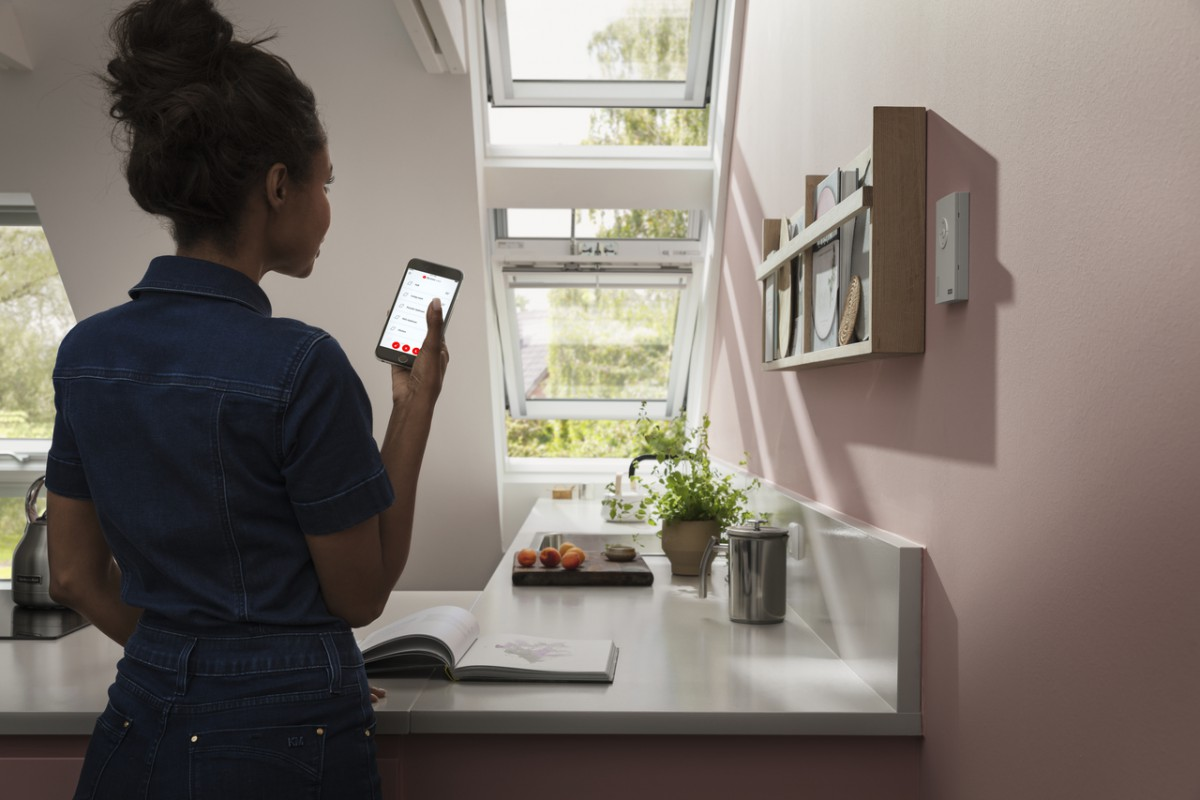 Pose d'un VELUX INTEGRA - VELUX ACTIVE WITH NETATMO