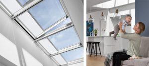 a ciel ouvert installation velux pose remplacement création fenêtre de toit verrière