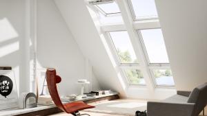 Verrière plane velux fenêtre de toit remplacement création