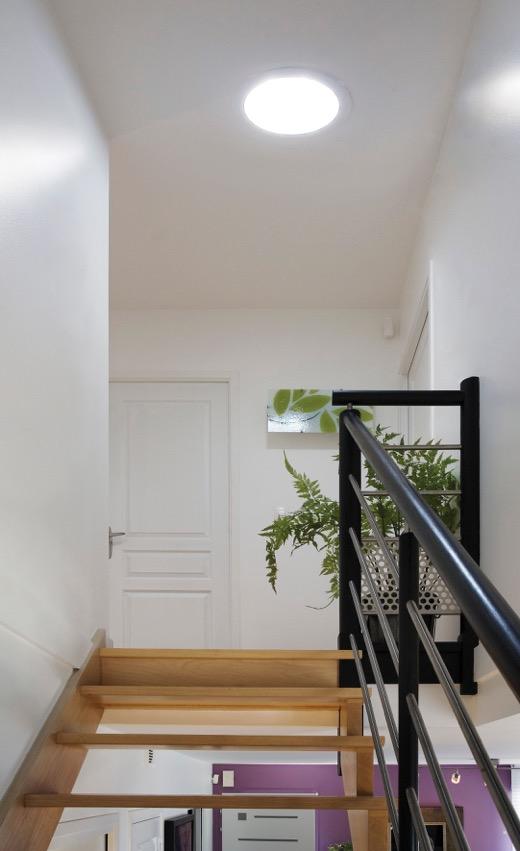Lumière naturelle couloir