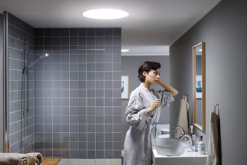 creer puit de lumiere velux salle de bain