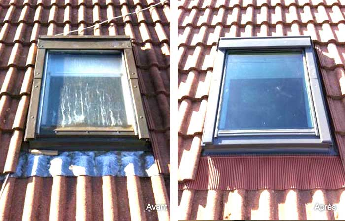 Remplacement fenêtre de toit VELUX
