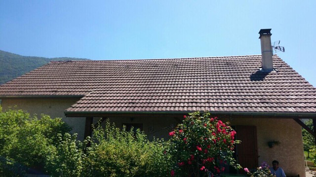 Traitement de toiture Annecy