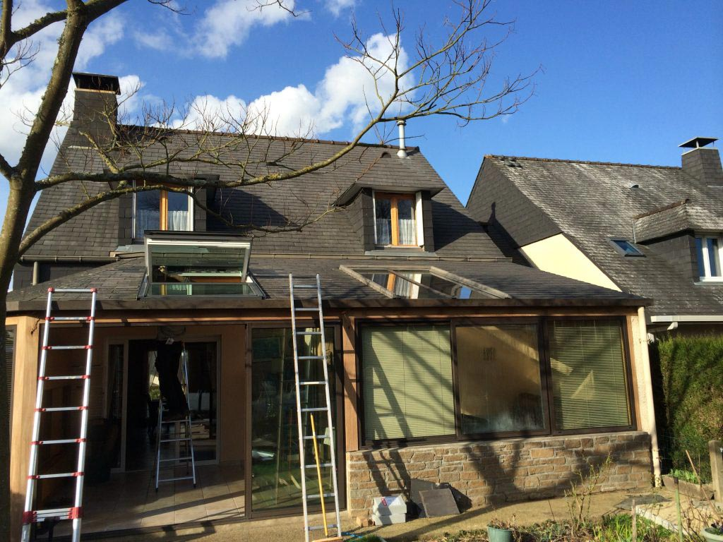 Création fenêtre de toit VELUX